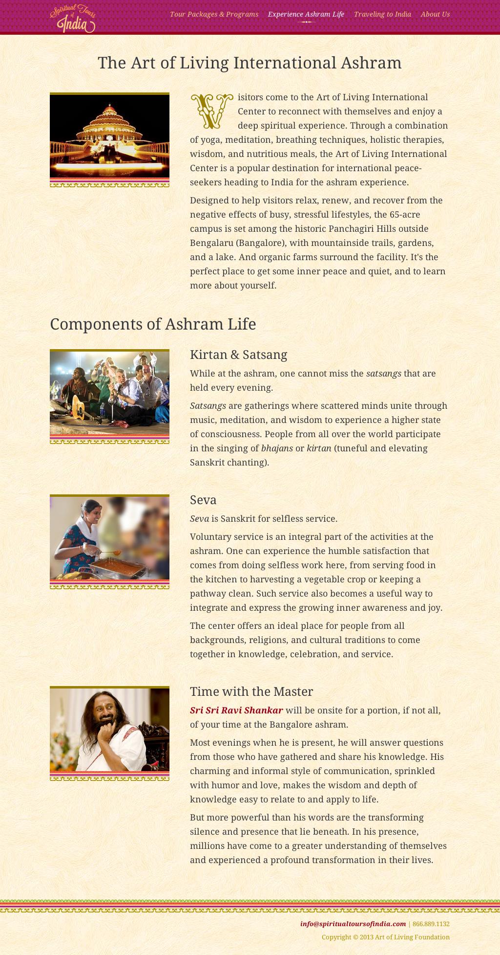 Ashram Life