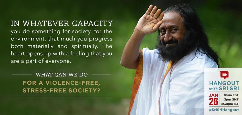 Sri Sri Ravi Shankar capacity