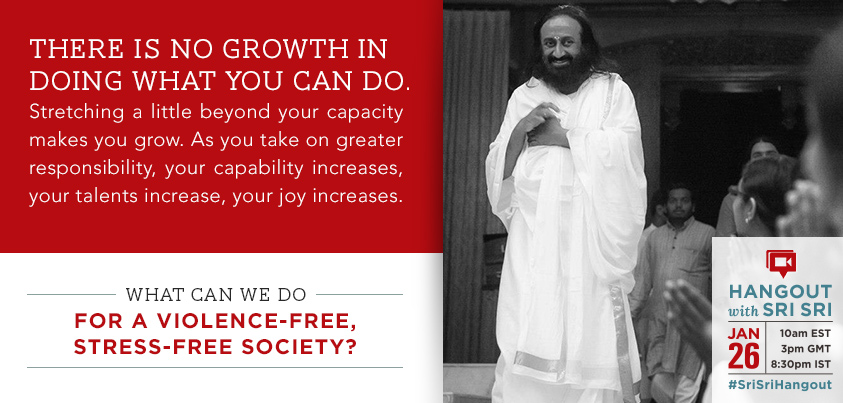 Sri Sri Ravi Shankar growth