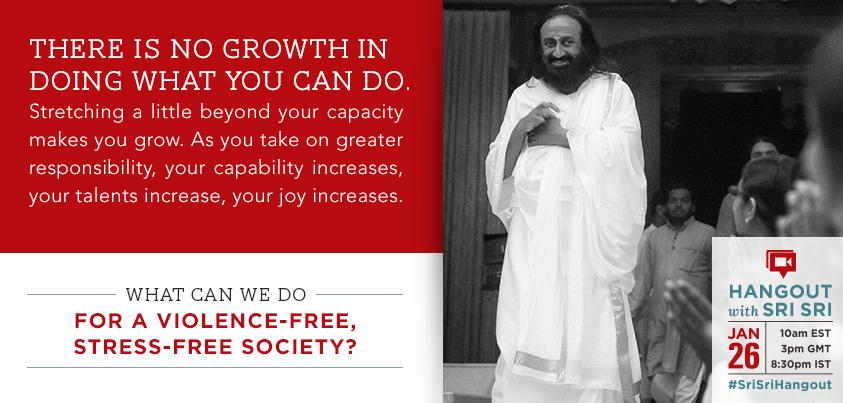 Sri Sri Ravi Shankar growth