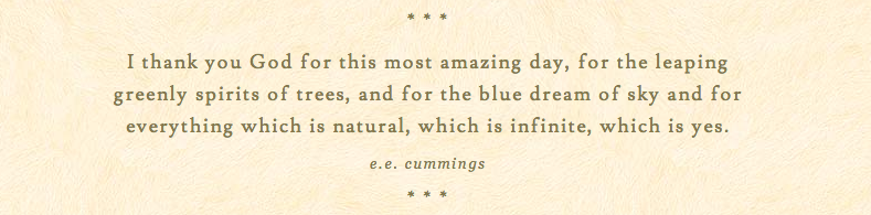 ee cummings poem