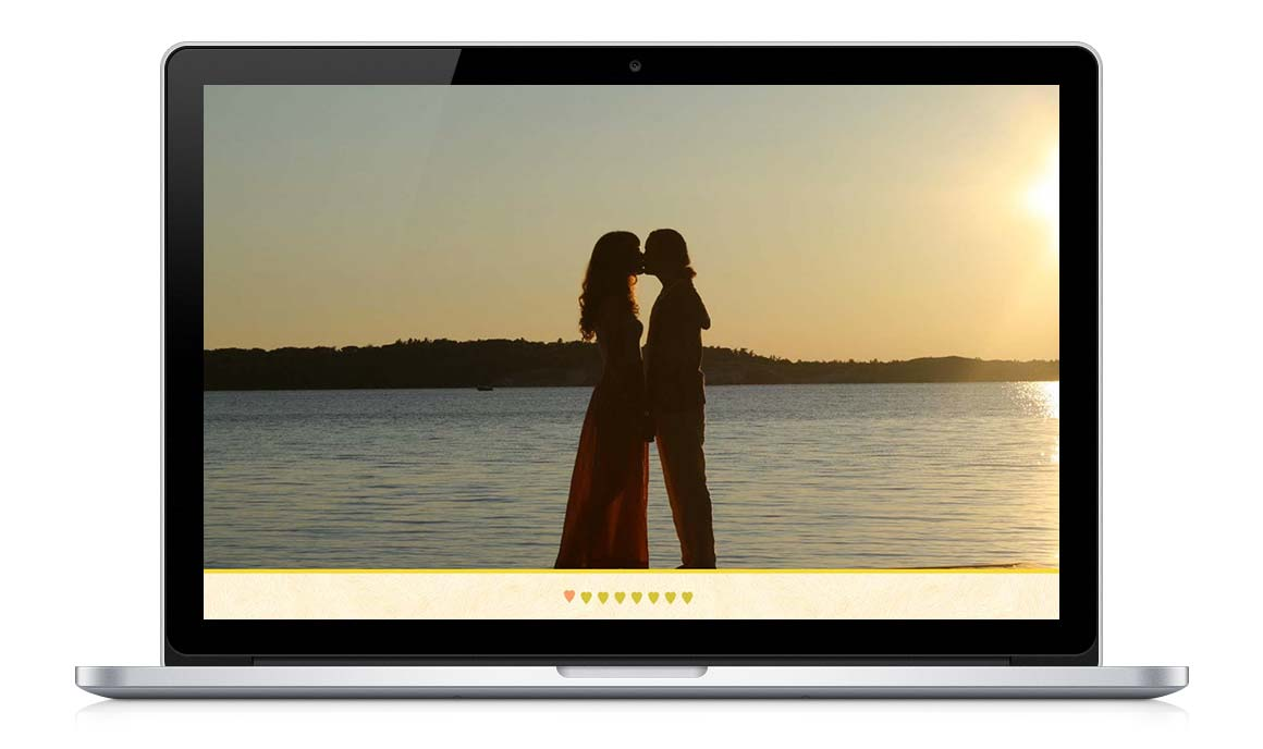 Responsive Wedding Website