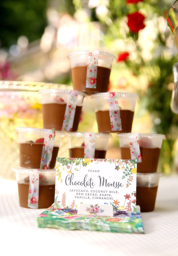 Wedding Chocolate Mousse